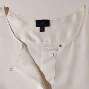 Banana Republic Monogram silk blouse